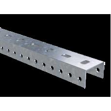 Профиль П-образный PSL, L500, толщ.1,5 мм, нержавеющий | BPL2905INOX | DKC