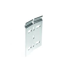 Ответвитель горизонтальный регулируемый внутренний, H100, цинк-ламельный | LP0100HDZL | DKC