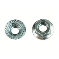 Гайка с насечкой, препятствующей откручиванию М10 INOX | CM101000INOX | DKC