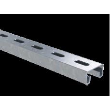 Профиль С-образный 41х21, L500, толщ.2,5 мм, нержавеющий | BPM2105INOX | DKC