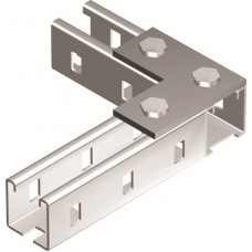 Пластина соединительная L-обр., длина 90х90 мм, 3отв., горячеоцинкованная   BMD1021HDZ   DKC