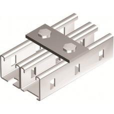 Пластина соединительная, длина 90 мм, 2отв., горячеоцинкованная   BMD1011HDZ   DKC