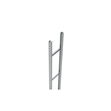Лоток лестничный вертикальный 1000х 41х3000мм, горячеоцинкованный | UVC300HDZ | DKC