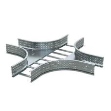 Ответвитель Х-образный лестничный 100х400, R660, горячий цинк   ULX614HDZ   DKC