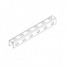 Профиль монтажный U-образный перфорированный 30х35х3000 (1,5 мм) (неоцинк.)   СПч303515U3-3   Ostec