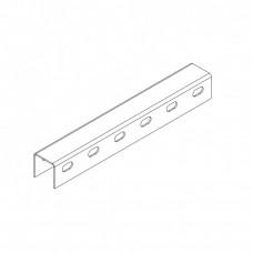 Профиль монтажный U-образный 40х40х3000 (2,5 мм) (неоцинк.)   СПч404025U2-3   Ostec