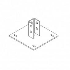 Плита одноканальная к полу 311 (неоцинк.)   ПОПч 311   Ostec