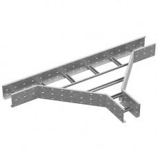 Тройник для лестничного лотка ЛКР 400х110 | ТЛЛКР 400х110 | Ostec