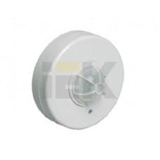 Датчик движения ДД 024 белый, макс. нагрузка 1100Вт, угол обзора 120-360гра, дальность 6м, IP33,   LDD11-024-1100-001   IEK
