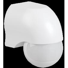 Датчик движения ДД 010 белый, макс. нагрузка 1100Вт, угол обзора 180град., дальность 10м, IP44,   LDD10-010-1100-001   IEK