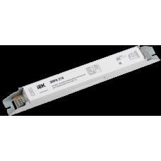 ЭПРА 218 для линейных ЛЛ Т8 | LLV218D-EBFL-2-18 | IEK