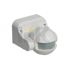 Датчик движения ДД 009 белый, макс. нагрузка 1100Вт, угол обзора 180град., дальность 12м, IP44,   LDD10-009-1100-001   IEK