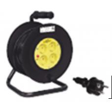 Катушка УК30 с термозащитой 4 места 2Р/30метров 2х0,75 мм2 | WKP20-06-04-30 | IEK