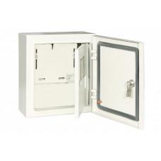 Щит учета ЩУ-1ф/1-1-6 IP66 (2 двери) (310х300х150)   SQ0905-0094   TDM