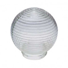 Рассеиватель Шар 62-009-А 85 прозрачный стекло (Кольца)   1005250484   Элетех