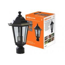 Светильник ЛТУ 6100-03 100Вт ЛН/КЛЛ/LED Е27 IP33 черный шестигранник | SQ0330-0008 | TDM