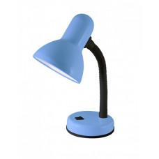 Светильник настольный на основании 60Вт ЛН/КЛЛ/LED Е27 синий (мягкая упак.) | SQ0337-0114 | TDM