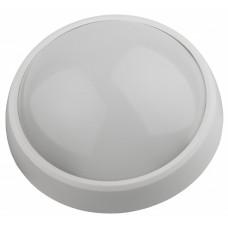 Светильник светодиодный ДПО SPB-1 12Вт 4000К IP54 опал белый круг с ДД | Б0017329 | ЭРА