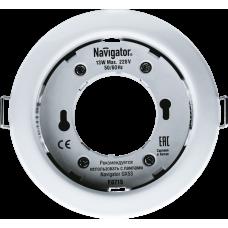 Светильник светодиодный ДВО NGX-R1-001-GX53 220В GX53 IP20 белый | 71277 | Navigator