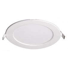 Светильник светодиодный ДВО PPL-R 12w 6500K IP40 WH d170мм встр/круг | 5008564A | Jazzway