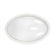 Светильник светодиодный ДПО 3020 8Вт 4500K IP54 овал пластик белый | LDPO0-3020-8-4500-K01 | IEK