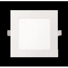 Светильник светодиодный ДВО PPL-S 9w 6500K IP40 WH 145мм встр/квадр | 5008281A | Jazzway