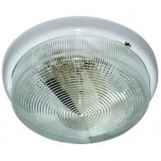 Светильник НБО Раунд 240 23-001 100Вт ЛН/КЛЛ/LED Е27 IP44 корпус белый | 1005500569 | Элетех