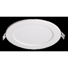 Светильник светодиодный ДВО PPL-R 12w 4000K IP40 WH d170мм встр/круг | 5008540A | Jazzway