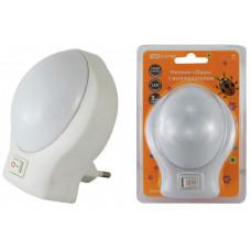 Ночник Овал 0,5Вт светодиодный белый с выключателем | SQ0357-0013 | TDM