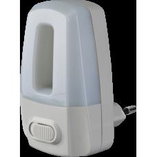 Ночник NNL-SW02-WH, 220В, выключатель 0,5Вт светодиодный белый | 71972 | Navigator