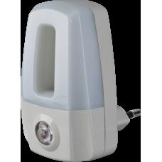 Ночник NNL-SNR02-WH, 220В, фотореле 0,5Вт светодиодный белый | 71969 | Navigator