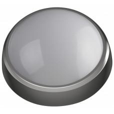 Светильник светодиодный ДПО SPB-1 8Вт 4000К IP54 опал темно-серый круг | Б0017325 | ЭРА