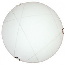 Светильник Контур 400 НПБ 01-2х60-135 М12 матовый белый /кл.хром ИУ | 1005204278 | Элетех