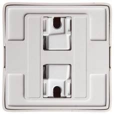 ХИТ О/У с изол. пласт. Белый Розетка б/з со шторками, 16А, 250В | RA10-137I-B | Schneider Electric