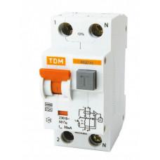 Выключатель автоматический дифференциальный АВДТ 32 1п+N 16А C 30мА тип A   SQ0202-0030   TDM