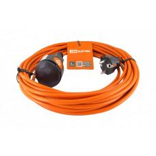 Удлинитель-шнур силовой УШз10 (штепс. гнездо, 40м ПВС 3х0,75) | SQ1301-0613 | TDM