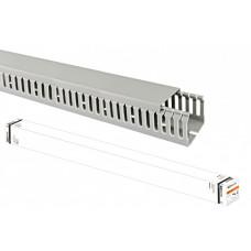 Кабель-канал перфорированный 50х50 перфорация 4/6мм (24 м)   SQ0410-0015   TDM
