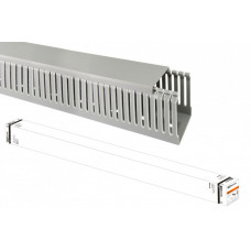 Кабель-канал перфорированный 40х60 перфорация 4/6мм (24 м)   SQ0410-0014   TDM