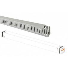 Кабель-канал перфорированный 25х40 перфорация 4/6мм (40 м)   SQ0410-0012   TDM