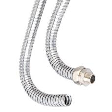 Металлорукав из оцинкованной стали DN 15мм, Dвн 15,5 мм, Dнар 18,5 мм, IP40, 50м | 667R1518 | DKC