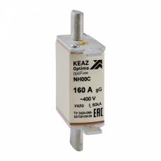 Вставка плавкая OptiFuse NH00С-16-400АС-0-gG-УХЛ3 | 144549 | КЭАЗ