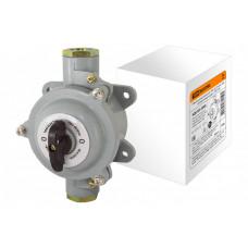 Пакетный выключатель ПВ2-40 2П 40А 220В, силуминовый корпус, IP56 | SQ0723-0066 | TDM