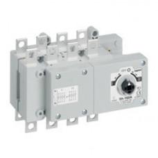 Перекидной выключатель-разъединитель DCX-M - 160 А - типоразмер 2 - 3П+Н - плоские выводы   431124   Legrand