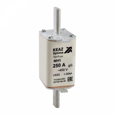 Вставка плавкая OptiFuse NH1-125-400AC-0-gG-УХЛ3 | 144692 | КЭАЗ