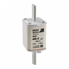 Вставка плавкая OptiFuse NH2-63-400AC-0-gG-УХЛ3 | 144753 | КЭАЗ
