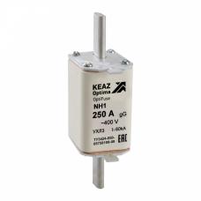 Вставка плавкая OptiFuse NH1-100-400AC-0-gG-УХЛ3 | 144691 | КЭАЗ