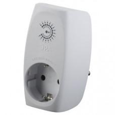 Сетевой фильтр SF-1e-W 1гн с заземл, со шт (белый) (10/60/720)  Б0015189   ЭРА