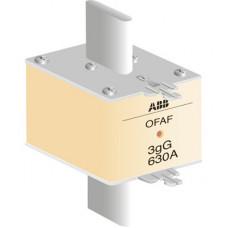 ПРЕДОХРАНИТЕЛЬ OFAF3H630 630A тип gG размер3 до 500В | 1SCA022627R7160 | ABB