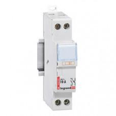 Разъединитель-держатель предохранителей - 1П+Н - цилиндрические бытовые предохранители - 10 А   005820   Legrand