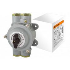 Пакетный выключатель ПВ2-100 2П 100А 220В, силуминовый корпус, IP56 | SQ0723-0068 | TDM